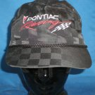 Pontiac Racing Hat Adjustable Cap NASCAR Motorsports