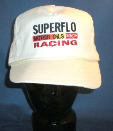 Superflo Motor Oils Exxon Adjustable Hat Cap Motorsports