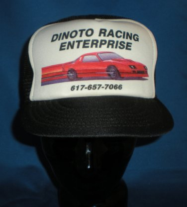 Dinoto Racing Enterprise Hat Cap Auto Racing Motorsports