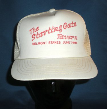 Starting Gate Tavern Belmont Stakes 1986 Hat Cap
