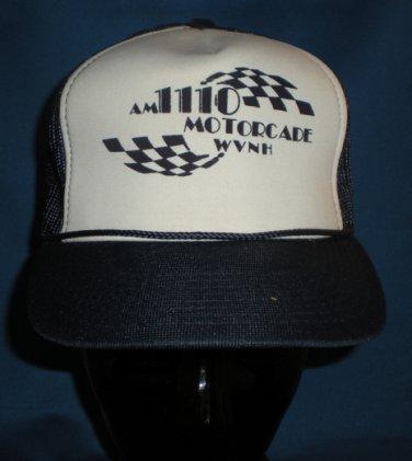 AM 1110 Motorcade WVNH Motorsports Auto Racing Adjustable Hat