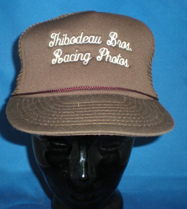 Thibodeau Brothers Racing Photos Adjustable Hat