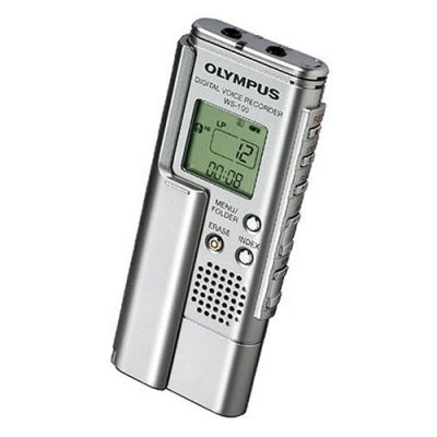Olympus WS-100 27 hour digital Voice Recorder with USB Interface (Refurbished)