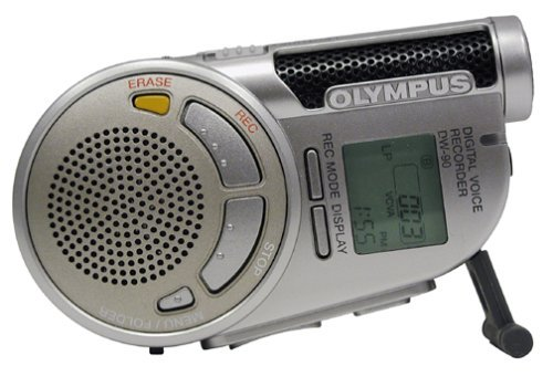 Olympus DW-90 Digital Voice Recorder (Champagne Gold) (Refurbished)