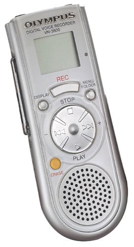 Olympus VN-3600 6 hour Digital Voice Recorder (Refurbished)