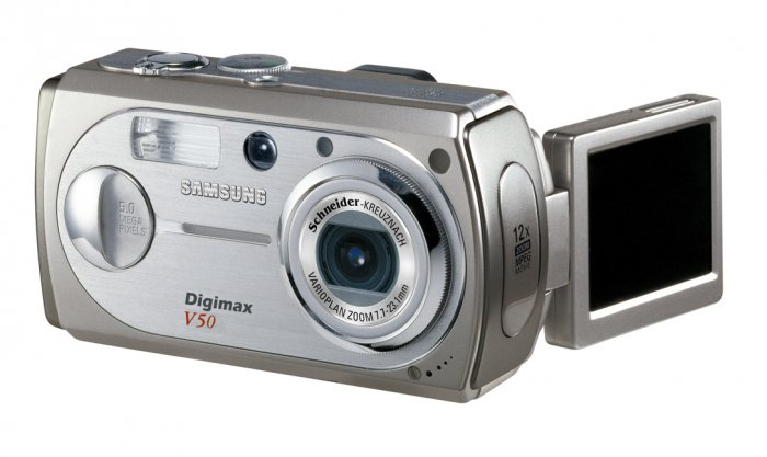 Samsung Digimax V50 5MP Digital Camera with 3x Optical Zoom