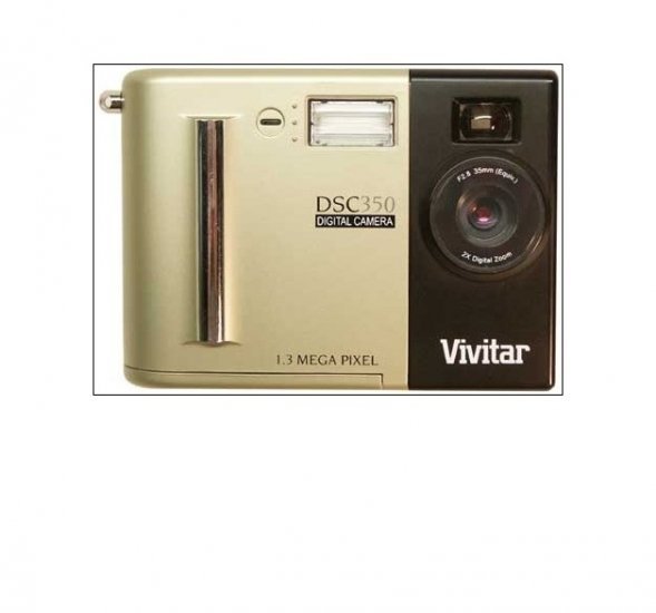 Vivitar DSC350 1.3 mega pixel digital camera kit