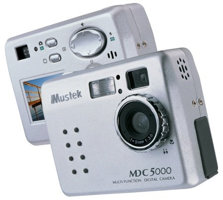 Mustek MDC-5000 5 Mega Pixel Multifunction Digital Still Camera