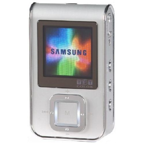 Samsung YP-T7JZ 1 GB Digital Audio Player with FM Tuner,Recorder & photo storage!