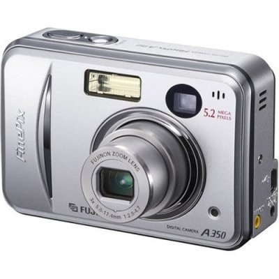 Fuji A350 5.2mp digital camera w/3x optical zoom