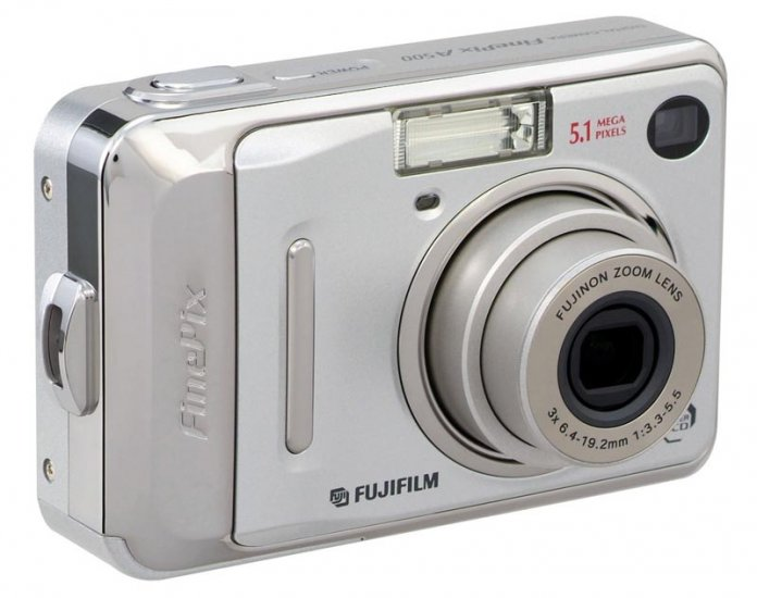 Fuji A500 5.1mp digital camera w/3x optical zoom