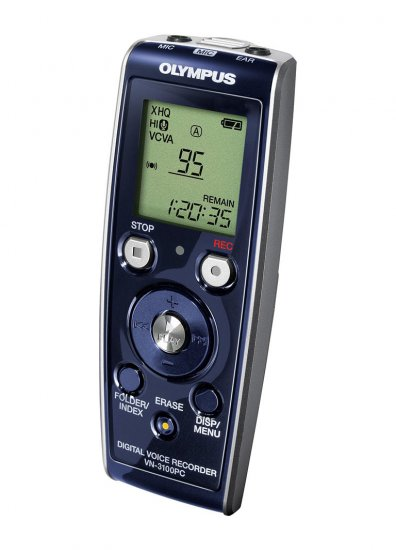 Olympus VN3100PC 71 hr digital voice recorder w/ pc interface