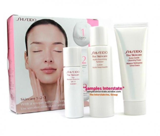 Shiseido The Skincare 1 2 3 Starter Kit