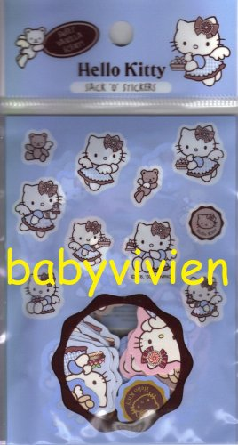 Sanrio 2003 Hello Kitty Franch Sack O Stickers