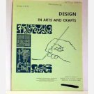 Design In Arts And Crafts - Circular 4-H 161 - 1970