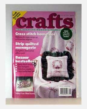 Crafts The Creative Woman's Choice Magazine 08/90