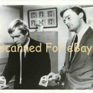 Man From UNCLE b/w photo - Robert Vaughn & David McCallum
