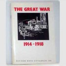 The Great War 1914-1918 catalog of books