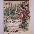 David Crockett - John Hancock Insurance booklet