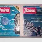 Trains - The Magazine of Railroading - 2 issues 1987
