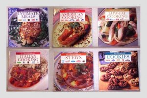6 Popular Brands Cookbooks - 1997