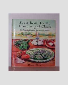 Sweet Basil, Garlic, Tomatoes, and Chives by Diana Shaw