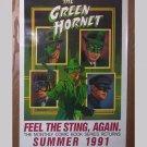 Green Hornet Poster - autographed by artist Jeffrey Butler