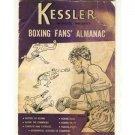Boxing Fans Almanac - Kessler Whiskey - 1954