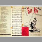 Army Navy Hit Kit Of Popular Songs - Issue BB, W & AA - 1940s