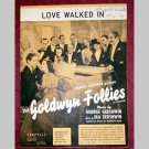 Love Walked In - Goldwyn Follies - sheet music