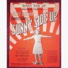 Sunny Side Up - Janet Gaynor - sheet music
