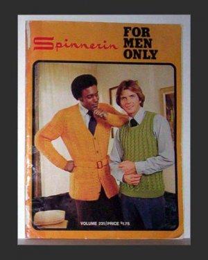 Spinnerin For Men Only - Volume 231 - 1974