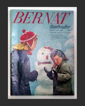Bernat Handicrafter - Accessories For Children - Book Number 46 - 1955