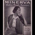 Minerva Ladies Staple Sweaters - Volume 65 - published in 1942