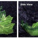 Delightful Green Leaf Dish by le Cdre Rouge
