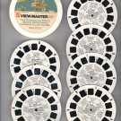 Fred Flintstone and Friends View-Master set from GAF - 7 reels
