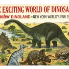 Sinclair Dinoland Souvenir Booklet from the NY World's Fair 1964-65
