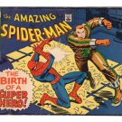 The Amazing Spider-Man (mini comic book) - The Birth of a Super-Hero!  1969