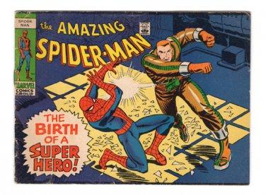 The Amazing Spider-Man (mini comic book) - The Birth of a Super-Hero!  1969