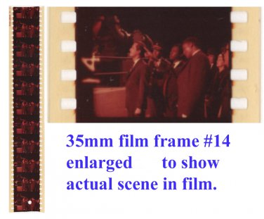 "Man From U.N.C.L.E. Original ""Solo"" 35mm Film Test Strips - 1964"