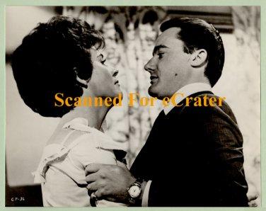 Robert Vaughn & Polly Bergen b/w photo from The Caretakers (1963)