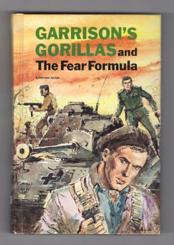 Garrison's Gorillas and the Fear Formula - Whitman hardcover from 1968