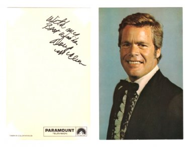 Doug McClure - Barbary Coast Studio Card from Paramount Television - 1975
