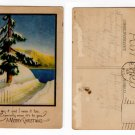 Christmas Postcard from 1921