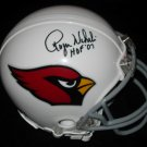 ROGER WEHRLI SIGNED ST. LOUIS CARDINALS MINI HELMET w/FREE SHIPPING!