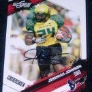 2009 SCORE INSCRIPTIONS JEREMIAH JOHNSON ROOKIE AUTOGRAPH w/FREE SHIPPING!