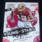 2009 SCORE INSCRIPTIONS RED ZONE MALCOM KELLY 07/30 w/FREE SHIPPING