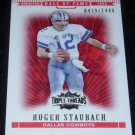 2007 TOPPS TRIPLE THREADS ROGER STAUBACH 0419/1449 w/FREE SHIPPING!