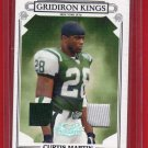 2007 DONRUSS THREADS CURTIS MARTIN GU JERSEY 145/250 w/FREE SHIPPING!