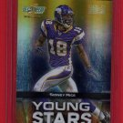 2008 SELECT YOUNG STARS SIDNEY RICE 15/50 w/FREE SHIPPING!